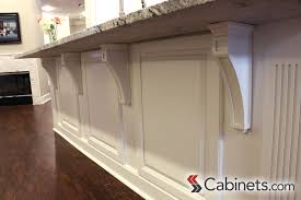 kitchen island corbels decorative corbels fit the style of this kitchen perfectly