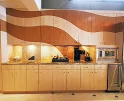pretty industrial style basement kitchen modern with wood grain