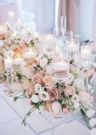 cool floral arrangements for wedding tables 15 in wedding table