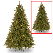 lakewood 7 5 green spruce artificial tree with 700 dual