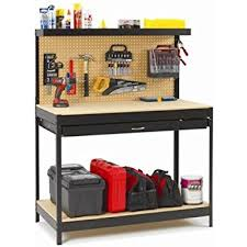 Eds Reloading Bench Multipurpose Workbench With Lighting And Outlet Work Bench With
