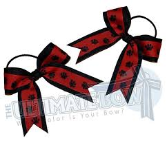 paw print ribbon the ultimate bow paw print collection the ultimate bow