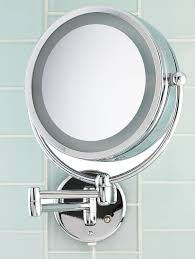 Wall Mounted Magnifying Mirror 10x Danielle Creations D123 10x 1x Makeup Mirror Has Two Lighting Modes