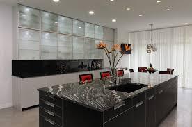 contemporary kitchen cabinet design chrome sink brown wooden