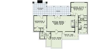 Two Master Bedroom Floor Plans Rustic Elegance With Two Master Suites 60587nd Architectural
