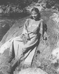 mrs june welch a cherokee indian in traditional costume 1939