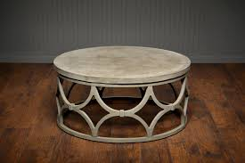 pebble outdoor coffee table stowe round coffee table reviews birch lane inside decorations 7