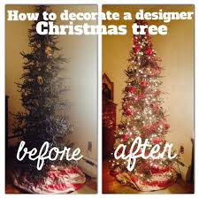 decorating my designer tree step by step vintage