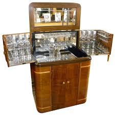 latest vintage dry bar cabinet antique art deco pop up martini bar