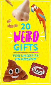 20 bizarre gifts under 5 on amazon