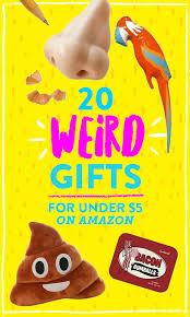 20 bizarre gifts under 5 on amazon