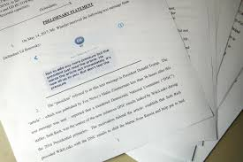 lawyer wants trump u0027s testimony in u0027fake news u0027 suit against fox video