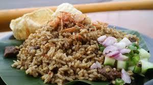cara membuat nasi goreng untuk satu porsi anda penyuka daging kambing wajib coba nasi goreng satu ini