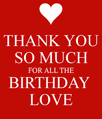 thank you birthday birthday shout outs