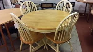 round pine dining table round pine extending table with 4 arched back chairs inside out