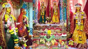 gauri ganpati decoration at home 2015 ग र गणपत