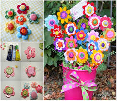 button flowers diy button flowers pictures photos and images for