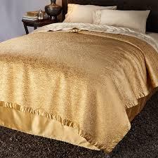 Natori Duvet Natori Gobi Palace Bed Runner Gold