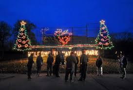 nay aug park christmas lights hit the lights drive thru display at nay aug park opens news
