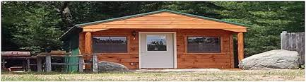 modern cabins at duggans canoe livery and campground