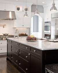 black kitchen island kitchen alluring white industrial kitchen with ceramic backsplash