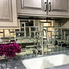 mirror tile backsplash kitchen best 25 kitchen mirrors ideas on farmhouse living