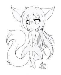 anime chibi sketch free chibi sketch batch 1shrimpheby coloring