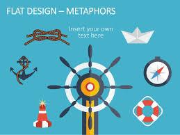 flat design powerpoint template
