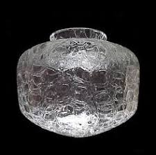 neckless glass shades for light fixtures brown white swirl glass neckless light shade ideal for wall sconce