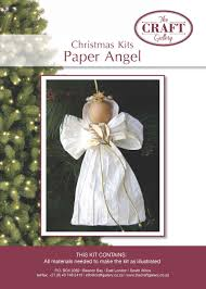 paper angel kit fun to make out of twisted paper and only r48 00