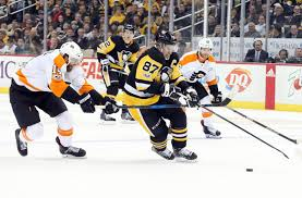 sidney crosby finishes flyers with ot one timer