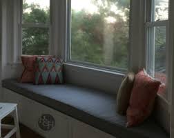 Window Seat Bench - bay window cushion etsy