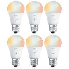 60w Led Light Bulb sylvania osram lightify 60w a19 daylight rgb smart led light bulb