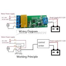 dc 5v 12v motor reverse polarity cyclic switch timer time repeater