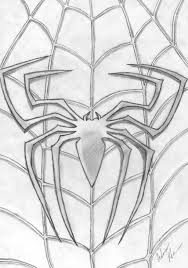 clip art spiderman logo coloring pages mycoloring free printable