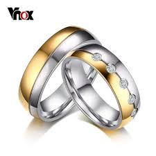 aliexpress buy vnox vintage wedding ring stainless steel
