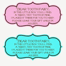 Tooth Fairy Gift Tooth Fairy Box Busy Moms Helper