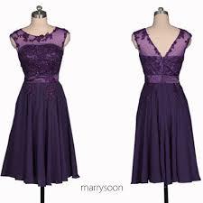 purple lace bridesmaid dress royal purple bateau neck lace and chiffon bridesmaid dresses