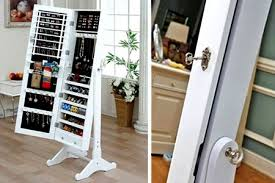 floor length mirror cabinet brilliant mirrors floor length mirror with jewelry storage wall