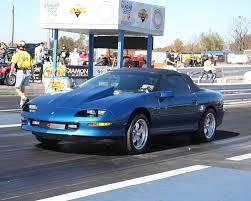 chevy camaro 95 1995 chevrolet camaro z28 conv 1 4 mile drag racing timeslip