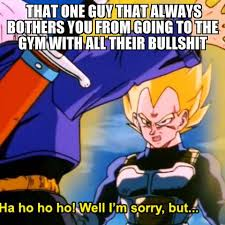 Dbz Gym Memes - dragon ball z gym meme dragonballzgym instagram photos and videos