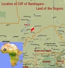 togo location on world map cliff of bandiagara land of the dogons mali world