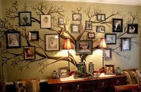 ideas to decorate walls decorative wall art ideas with tree with photographs for wall decoration