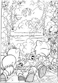 coloring pages sonic sonic the hedgehog color page coloring pages for kids cartoon