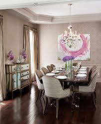 mirror in dining room ideas dining room traditional with brown