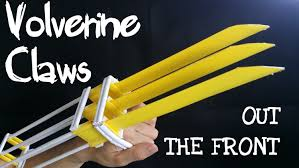 wolverine s claws how to make paper wolverine claws that work otf out the front
