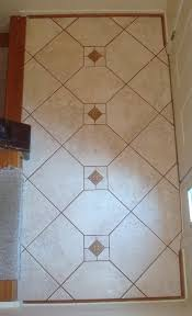 Porcelain Tile Entryway Straight Edge Tile