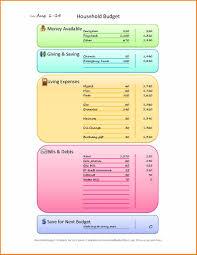 bills budget spreadsheet template free printable worksheets