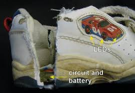 skechers light up shoes on off switch light up shoes vibration sensor robot room