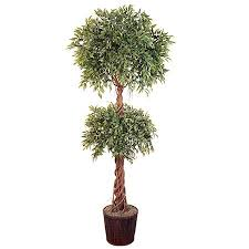artificial trees topiaries faux trees for home office